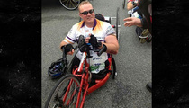 Obama's White House Guest -- 4 MARATHONS AND COUNTING ... After Losing Legs in Afghanistan