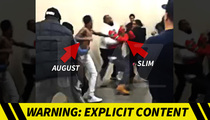 August Alsina Brawl -- Security Guards Helped Singer Ambush Me ... Promoter Claims