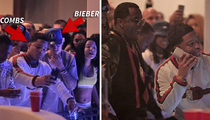 Justin Bieber -- Parties With UCLA Football Player ... Who Happens to Be Diddy's Son