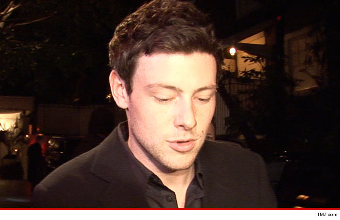 Cory Monteith Dad