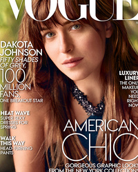 "Dakota Johnson Covers Vogue, Talks ""Fifty Shades of Grey"" Fame"