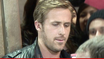 Ryan Gosling -- Plays Cat and Mouse with Stalker