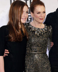 Julianne Moore Steps Out With Her Adorable Family -- See How Much Her Kids Look Like Her!