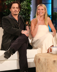 "Gwyneth Paltrow, Johnny Depp & Paul Bettany Play ""Never Have I Ever"""