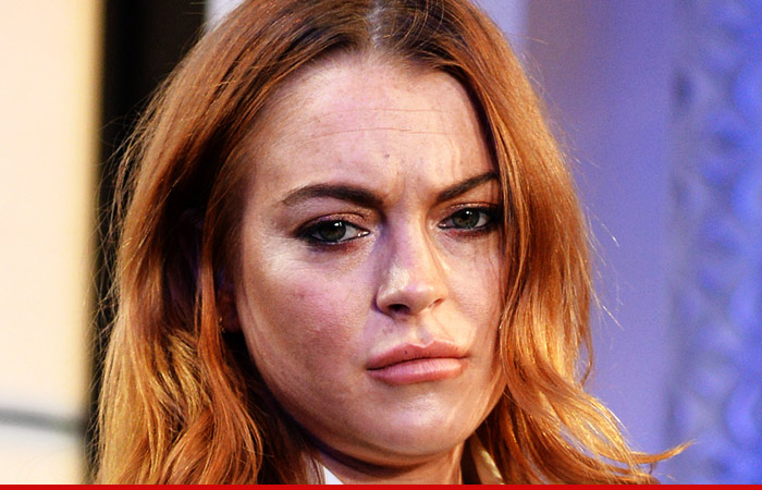Lindsay Lohan Fails Community Service AGAIN ... Jail on the Table ...