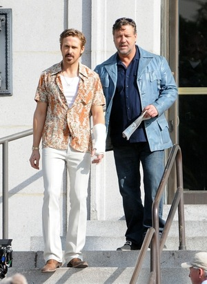 'The Nice Guys' Movie Set Photos