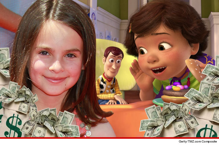 Toy Story Child Actor Salary
