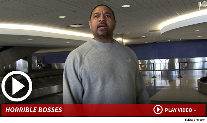 NBA's Mark Jackson -- RIPS ROGER GOODELL ... He's a Terrible Commish