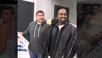 Kanye West -- I'm Not Signing that Pic ... That's Kim's OTHER Wedding!