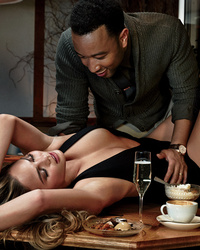 John Legend and Chrissy Teigen Bring the Heat in Super-Sexy GQ Spread