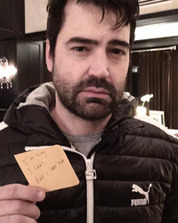 """Sex and the City's"" Ron Livingston Recreates Jack Berger's Infamous Breakup Post-It Note"