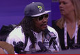 Marshawn Lynch to Media -- 'I'm Here So I Won't Get Fined'