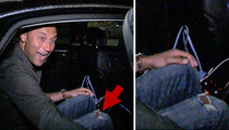 Derek Jeter -- Escapes East Coast Blizzard ... Bringing Back Ripped Jeans