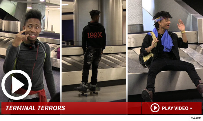 Rae Sremmurd Airport Video