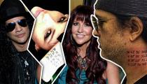Slash -- Tattoo Seals the Divorce Deal (TMZ TV)