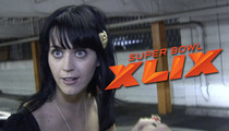 Katy Perry's Boobs -- Now Super Bowl Prop Bet ... Cleavage or No Cleavage!?