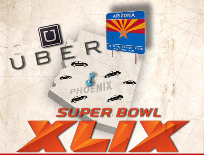 Uber Drivers Super Bowl