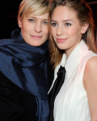 Robin Wright Poses With Gorgeous Lookalike Daughter Dylan Penn At Paris Fashion Week
