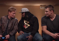 Marshawn Lynch -- Crackin' Jokes with Gronk ... On Conan O'Brien