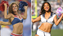 Patriots Cheerleaders vs. Seahawks Cheerleaders -- Who'd You Rather?!