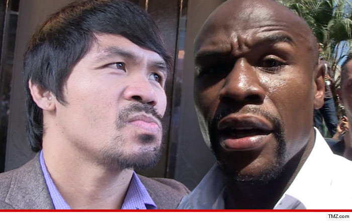 Floyd Mayweather vs Manny Pacquiao: Agree to $250 Million Purse and ...