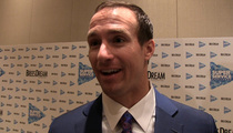 Drew Brees -- Brad Pitt's My Homie ... I Love That Guy