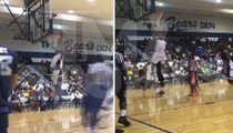 Dez Bryant -- DUNK FAIL ... In Charity Hoops Game