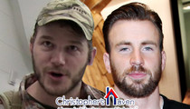Chris Evans -- Super Bowl Bet Raised $11k for Actor's Charity
