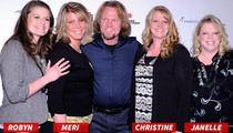 'Sister Wives' -- Kody Brown Divorces One Wife, Marries Another