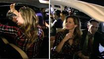 Gisele Bündchen -- Parking Lot V.I.P. ... After Super Bowl Win