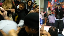Ghostface Killah -- Mouthy Fan Steps Up to Get Beat Down (VIDEO)