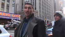 Wladimir Klitschko -- Childbirth Is Tougher Than Any Fighter ... 'Hayden Is a Hero'
