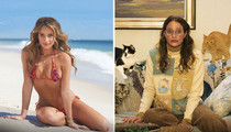 SI Cover Girl Hannah Davis -- Stripping Down  ... And Fuglying Out