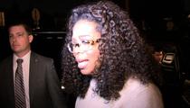 Oprah Winfrey -- Chokes Up Over Bobbi Kristina (VIDEO)