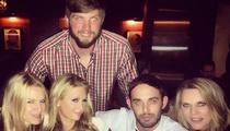 'Paris Hilton Of NFL' -- Kicks It With Actual Paris Hilton