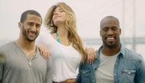 Colin Kaepernick & Vernon Davis -- 49ers Team Bonding ... With Bikini Model