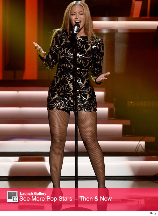 Beyonce Shows a Whole Lotta Leg While Performing at Stevie ...: http://www.toofab.com/2015/02/11/beyonce-stevie-wonder-tribute/