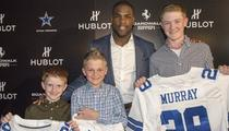 Cowboys' DeMarco Murray -- Surprises Texas Family ... After Tragic House Fire