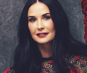 Demi Moore Stuns In Rare Photo Shoot With Harper's Baz