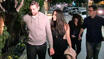 Aaron Rodgers & Olivia Munn -- Hollywood Date Night ... With Quiznos Guy