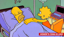 'Simpsons' Executive Producer -- Homer's Coma Theory is Cool ... But TOTALLY FALSE!