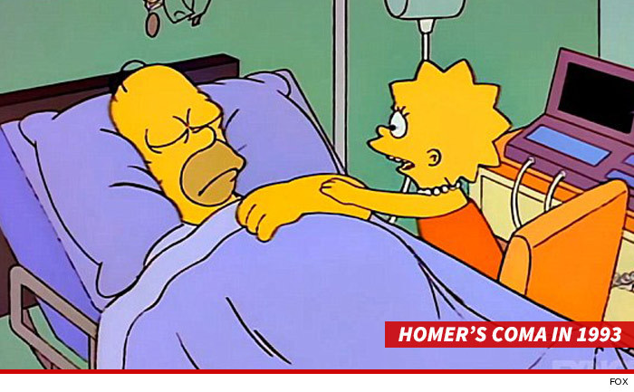 Homer Simpson Coma