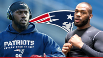 New England Patriots -- We Can't Stop Chandler Jones from Fighting ... But It Could Void His Contract