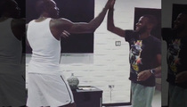 Usain Bolt -- Breaks Another Record ... Longest Handshake Ever