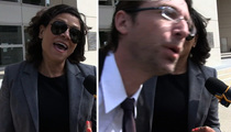 Lindsay Lohan -- My Attorney Got Baba Booeyed! (VIDEO)