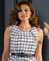 Eva Mendes Stuns In Post-Baby Photo Shoot -- See Her Retro Glam Look!