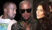 Amber Rose Attacks Kim Kardashian ... What a Nut!!!