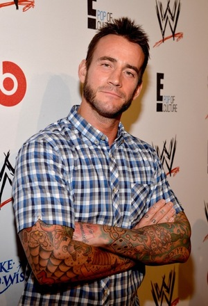 CM Punk's Former Superstar Photos