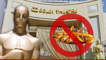 The Oscars -- Show Will Go On ... Roaches Dodge Health Inspectors