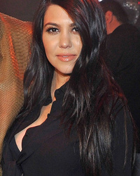 Kourtney Kardashian Attends First Post-Baby Party with Scott Disick